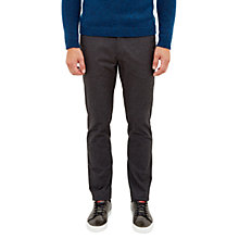 Buy Ted Baker Rustler Trousers, Charcoal Online at johnlewis.com