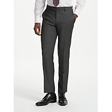 Buy Richard James Mayfair Wool Pindot Slim Fit Suit Trousers, Charcoal Online at johnlewis.com