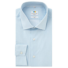 Buy Richard James Mayfair Print Slim Fit Shirt, Blue/White Online at johnlewis.com