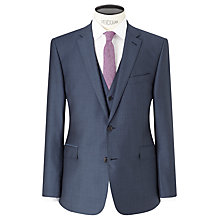 Buy Richard James Mayfair Wool Mohair Slim Fit Suit Jacket, Blue Steel Online at johnlewis.com