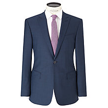 Buy Richard James Mayfair Puppytooth Slim Suit Jacket, Blue Online at johnlewis.com