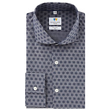 Buy Richard James Mayfair Floral Slim Fit Shirt, Grey/Blue Online at johnlewis.com