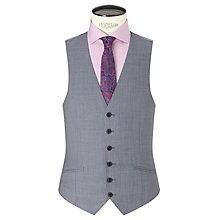 Buy Richard James Mayfair Wool Sharkskin Slim Fit Waistcoat, Slate Online at johnlewis.com
