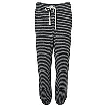 Buy Sundry Striper Sweat Pants, Heather Grey Online at johnlewis.com