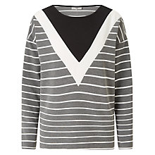 Buy Minimum Jeanette Top, Grey Online at johnlewis.com