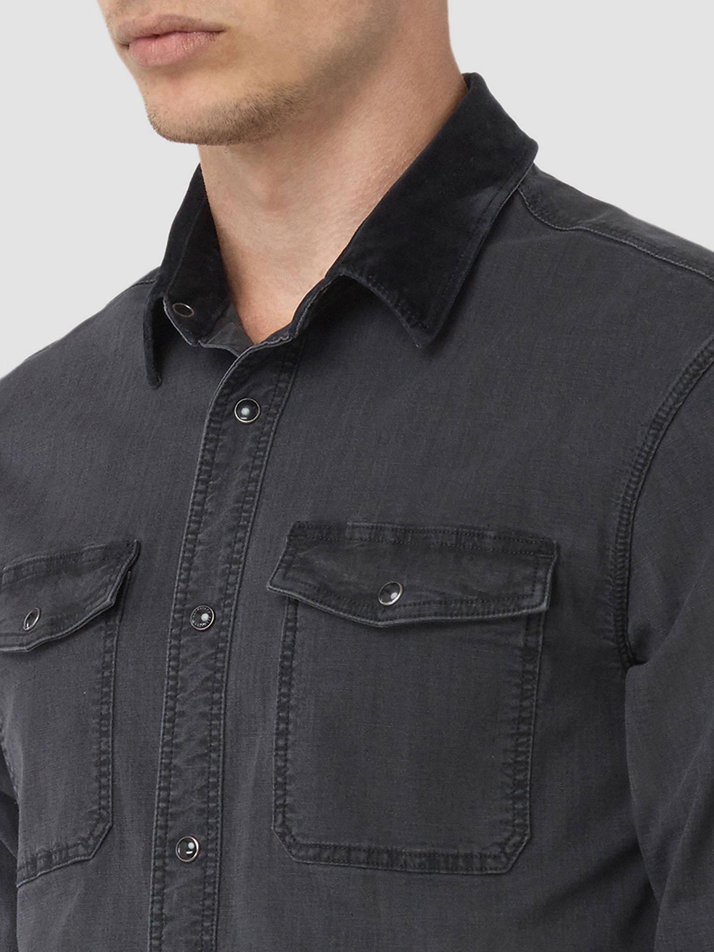 0b2d0bf68d ... BuyAllSaints Dyce Denim Shirt