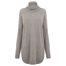 Buy Warehouse Ribbed Curved Hem Jumper Online at johnlewis.com