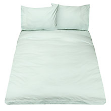 Buy John Lewis Crisp & Fresh 400 Thread Count Egyptian Cotton Duvet Cover, Duck Egg Online at johnlewis.com