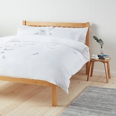 John Lewis Butterflies Duvet Cover and Pillowcase Set