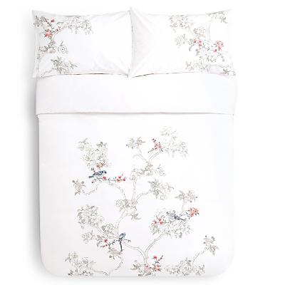 John Lewis Chinese Birds Duvet Cover and Pillowcase Set