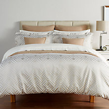 Buy Christy Deco Diamond Duvet Cover and Pillowcase Set Online at johnlewis.com