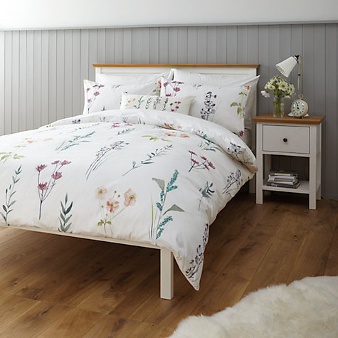 John Lewis Longstock Duvet Cover And Pillowcase Set Online At Johnlewis