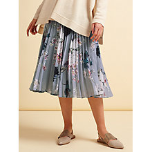 Buy Modern Rarity Archive Print Pleated Full Skirt, Multi Online at johnlewis.com