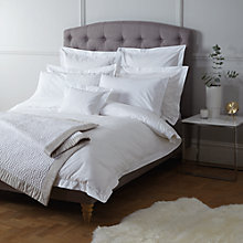 Buy John Lewis Dobby Dot Cotton Bedding Online at johnlewis.com