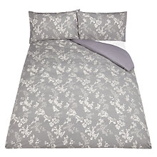 Buy John Lewis Floral Jacquard Duvet Cover and Pillowcase Set Online at johnlewis.com