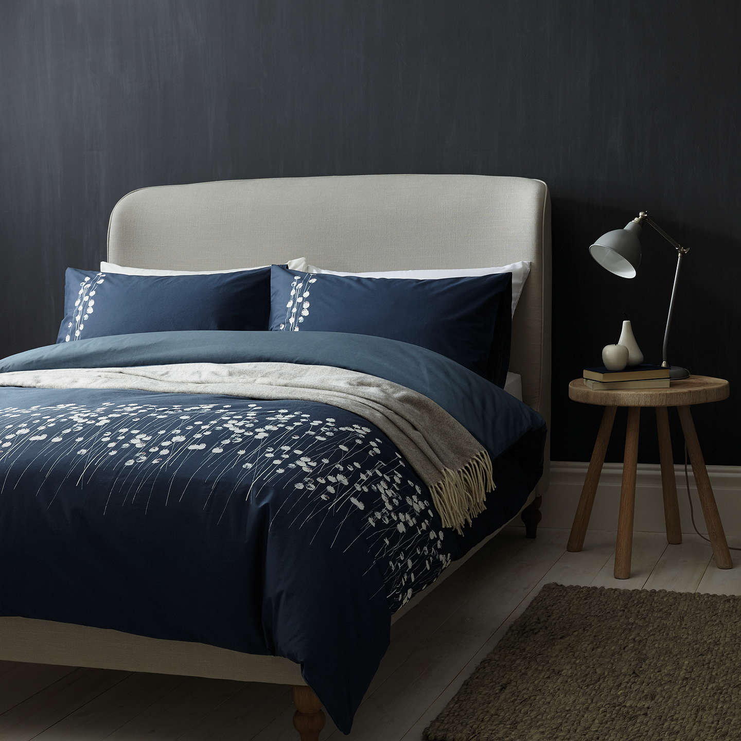 croft collection poppyheads cotton bedding at john lewis. Black Bedroom Furniture Sets. Home Design Ideas