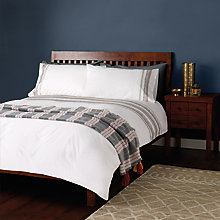 Buy John Lewis Fusion Tile Embroidery Duvet Cover and Pillowcase Set Online at johnlewis.com