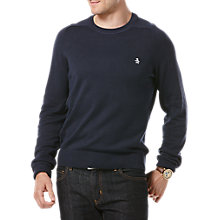 Buy Original Penguin Raglan Sleeve Cotton Crew Neck Jumper Online at johnlewis.com