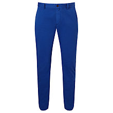 Buy Gant Slim Comfort Chinos, Nautical Blue Online at johnlewis.com