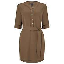 Buy Phase Eight Kiri Tunic Top, Khaki Online at johnlewis.com
