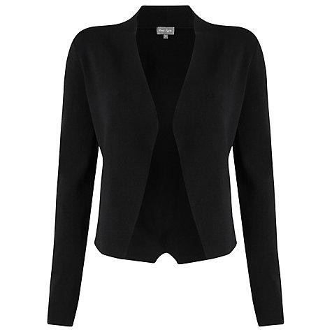 Buy Phase Eight Terra Smart Cardigan, Black | John Lewis