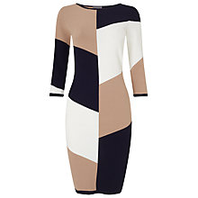 Buy Phase Eight Abriana Block Knitted Dress, Multi Online at johnlewis.com