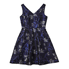 Buy Precis Petite Jeff Banks Jacquard Print Dress, Multi Online at johnlewis.com