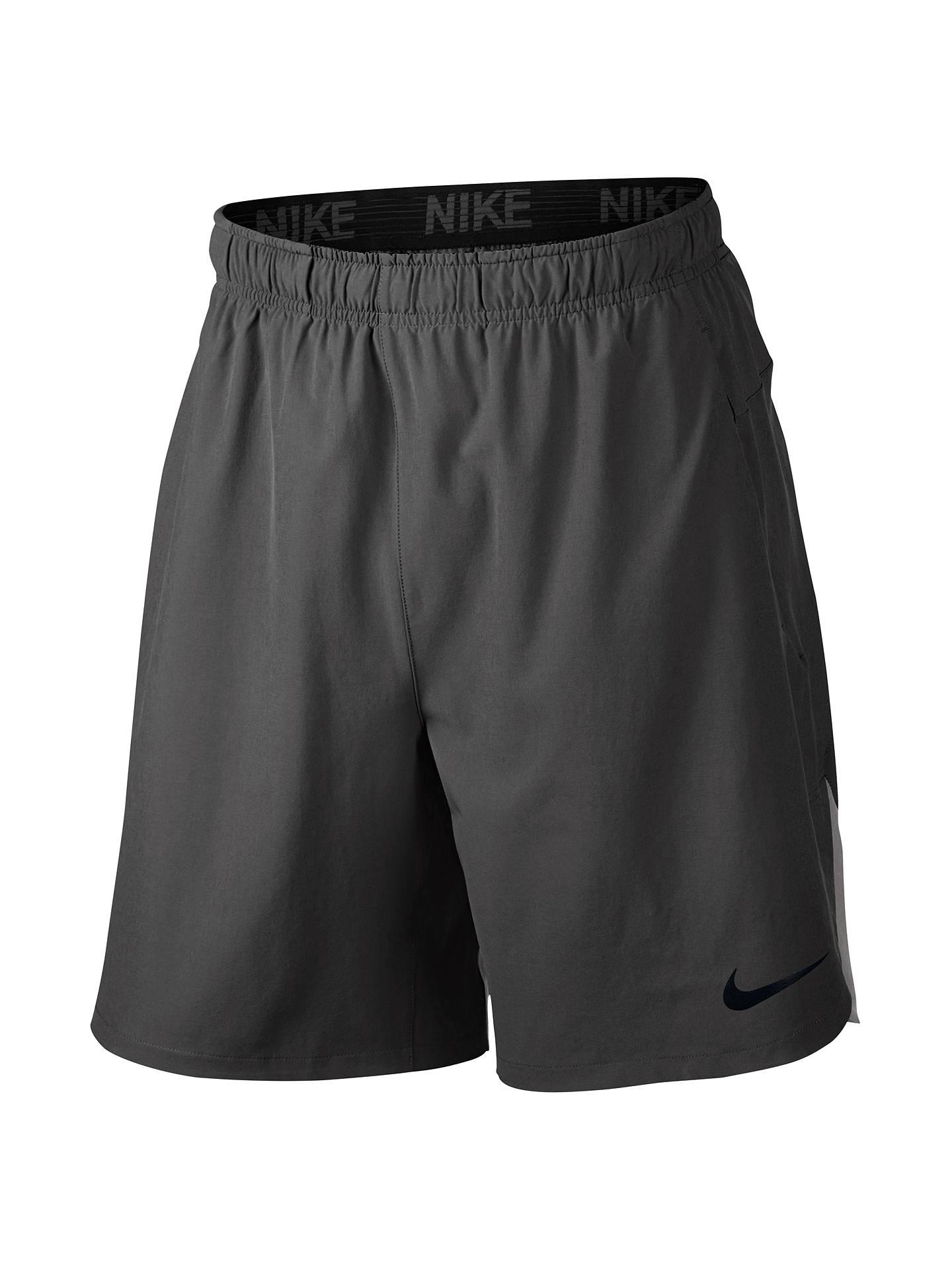 059ea0825b5 Nike Flex Contrast Back Hem Training Shorts at John Lewis   Partners