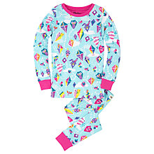 Buy Hatley Children's Colourful Kite Pyjamas, Blue Online at johnlewis.com