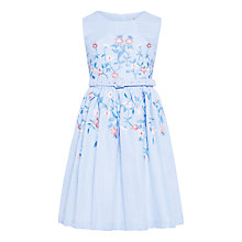 Buy John Lewis Heirloom Collection Girls' Candy Stripe Dress, Blue Online at johnlewis.com