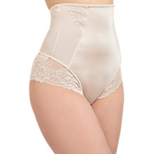 Buy John Lewis Roxanne Lace Control High Waist Brief Online at johnlewis.com