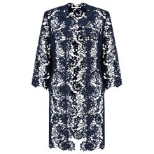 Buy Jacques Vert Lace Jacket, Navy Online at johnlewis.com