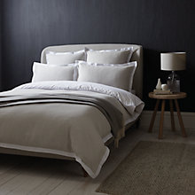 Buy John Lewis Croft Collection Mini Waffle Bedding Online at johnlewis.com