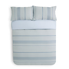 Buy John Lewis Reuben Duvet Cover and Pillowcase Set Online at johnlewis.com
