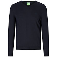 Buy BOSS Green C-Callum V-Neck Jumper Online at johnlewis.com