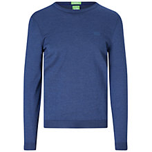 Buy BOSS Green C-Caio Crew Neck Sweater Online at johnlewis.com