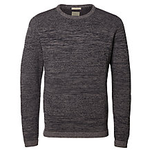 Buy Selected Homme Bob Marl Cotton Jumper Online at johnlewis.com