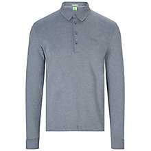 Buy BOSS Green C-Paderna Long Sleeve Polo Top Online at johnlewis.com