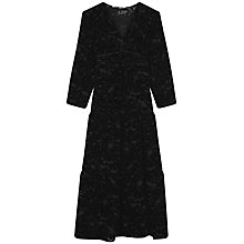 Buy Gerard Darel Boheme Dress, Black Online at johnlewis.com
