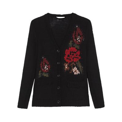 Retro Vintage Sweaters Gerard Darel Adelaide Cardigan Black £80.00 AT vintagedancer.com