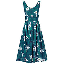 Buy Jolie Moi Floral Print Lace Prom Dress Online at johnlewis.com