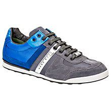 Buy BOSS Green Arkansas Trainers, Grey Online at johnlewis.com