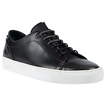 Buy Ted Baker Kiing Tan Trainers, Black Online at johnlewis.com