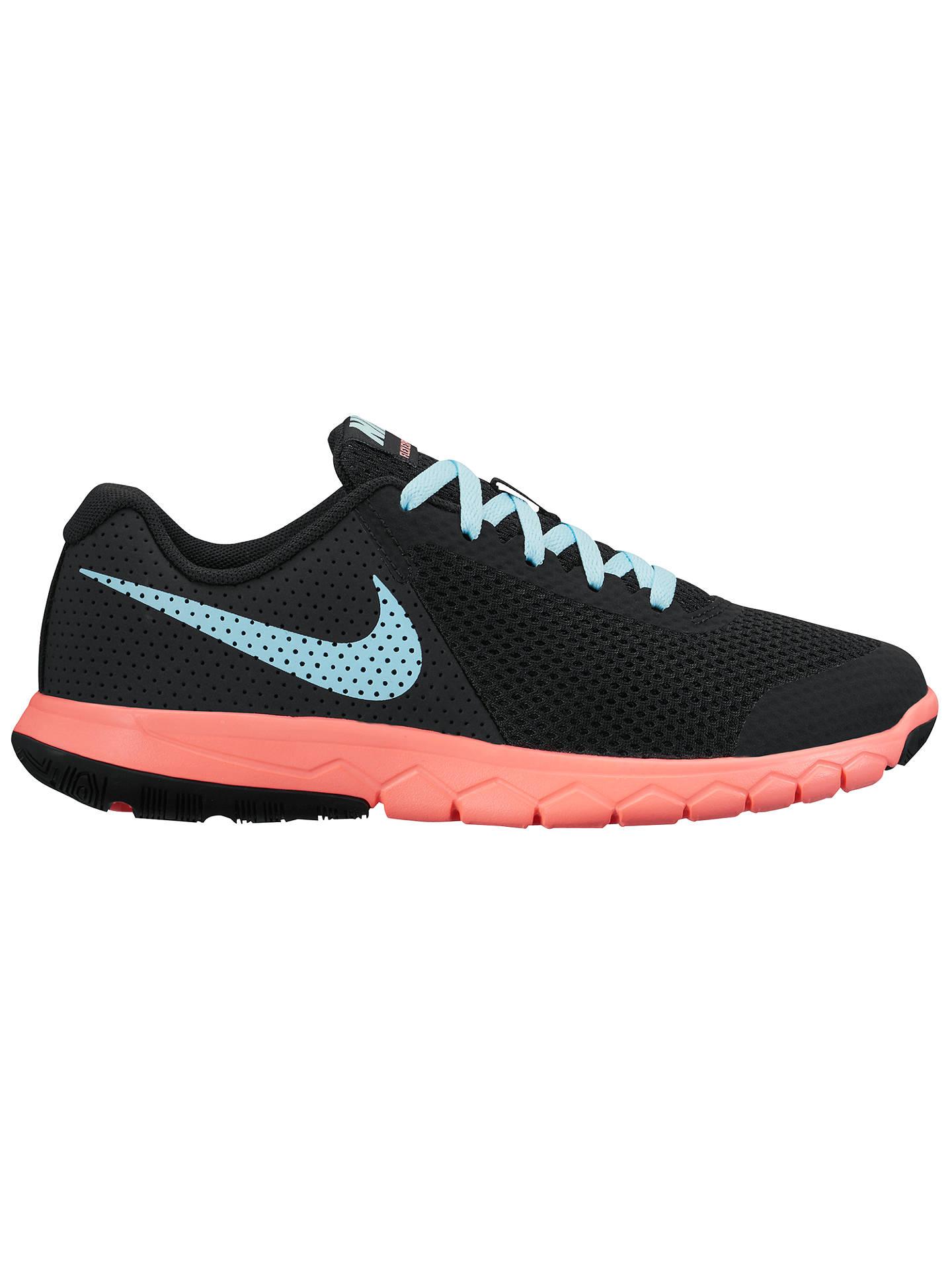 78b5e7e16b0ea Nike Children s Flex Experience 5 Laced Trainers at John Lewis ...