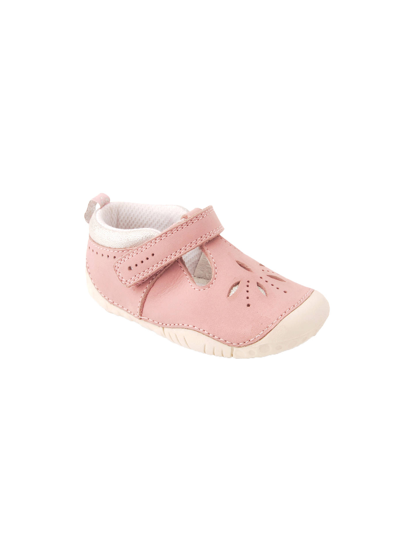 f4b524d31fbb6 Buy Start-rite Baby Polly Rip-Tape Leather Pre Walker Shoes, Pink, ...