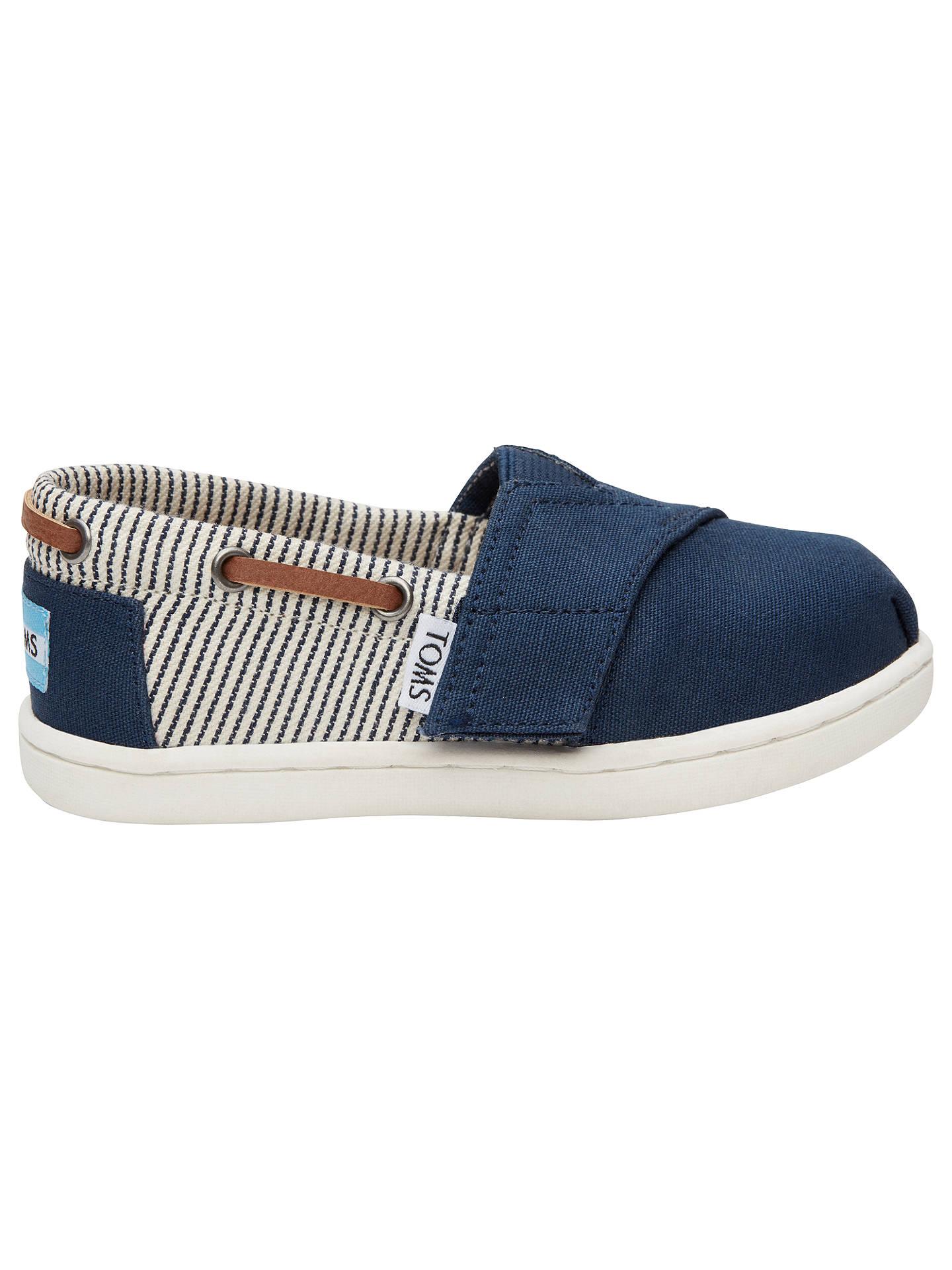 4bcc97311a0 Buy TOMS Children s Bimini Striped Canvas Shoes