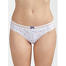 Buy COLLECTION by John Lewis Jenny Cherry Blossom Print Briefs, Multi Online at johnlewis.com