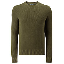 Buy JOHN LEWIS & Co. Linen Cotton Fisherman Rib Jumper Online at johnlewis.com