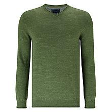 Buy John Lewis Budding Cotton V-Neck Jumper Online at johnlewis.com