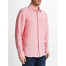 Buy John Lewis Linen Stripe Shirt Online at johnlewis.com